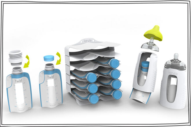 Kiinde Breastmilk system