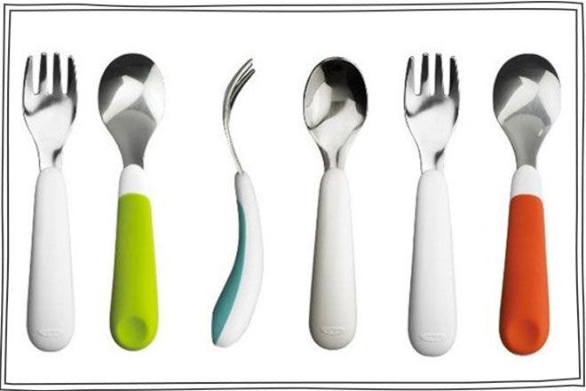 Oxo-Tot-Fork-&-Spoon-Set