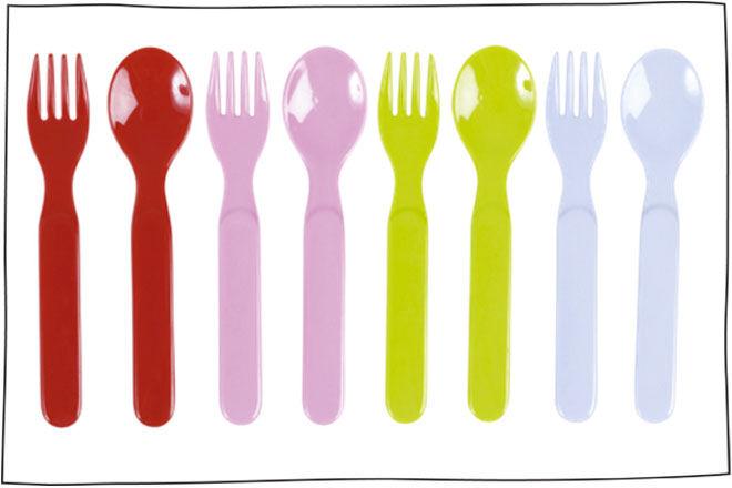 RICE Kids fork & spoon