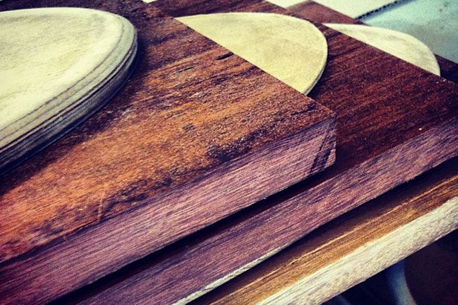 Worthy Skateboards recycled timber cruisers