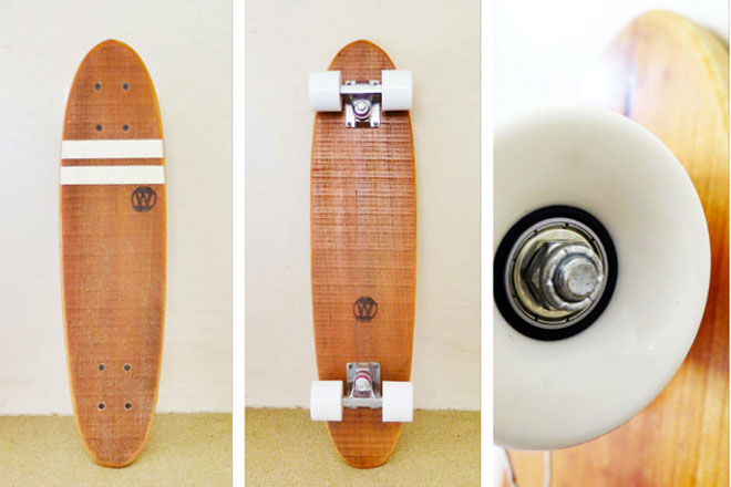 Worthy Skateboards recycled timber
