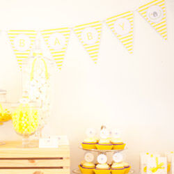 Personalised bunting from Love JK (from $1.99 per letter)