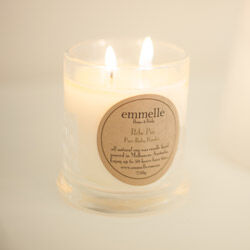 Natural soy wax candles from Emmelle ($29.95)