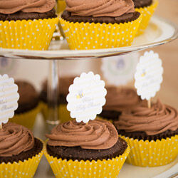 Cupcakes from The Cupcake Queens (from $40 per dozen)