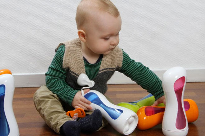 iiamo Self warming Feeding Bottle