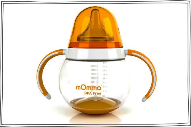 mOmma Feeding Bottle with Handle