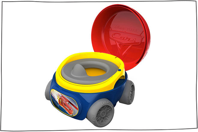 The First Years Magical Sounds 3 In 1 Potty - Cars