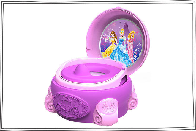 The First Years Magical Sounds 3 In 1 Potty - Princess