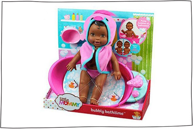 Little Mommy Bubbly Bathtime Doll