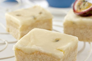 Lemon and Passionfruit Squares Recipes
