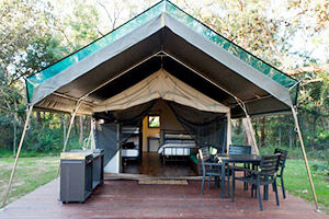 NRMA Holiday Parks glamping