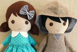 Roving Ovine handmade dolls