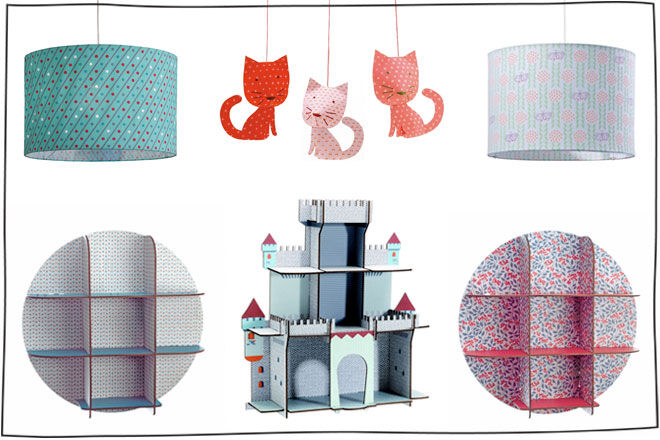 Djeco 'Little Big Room' décor