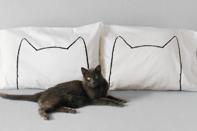 Cat pillowcase