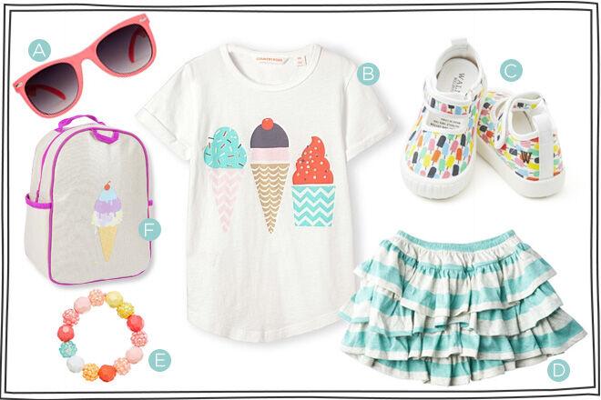 Ice cream clothing