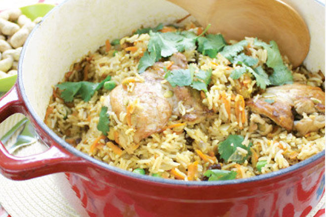 Easy Chicken Pilaf Recipe - Chicken Recipes for Kids