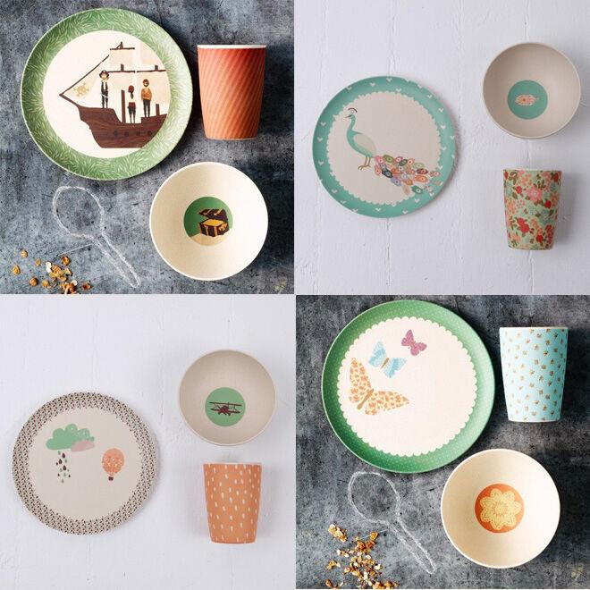 Love Mae bamboo tableware