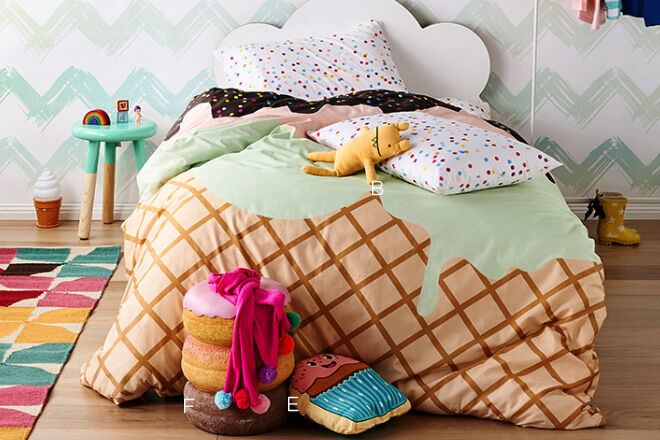 Sack Me quilt cover