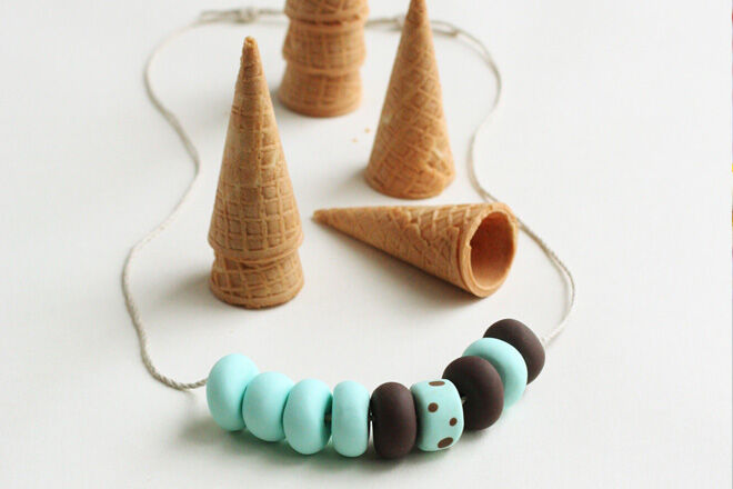 Tasty circus necklace