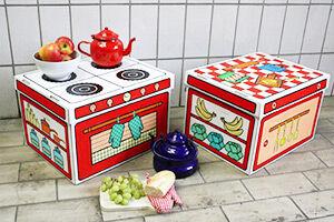 Villa Carton Storage Boxes