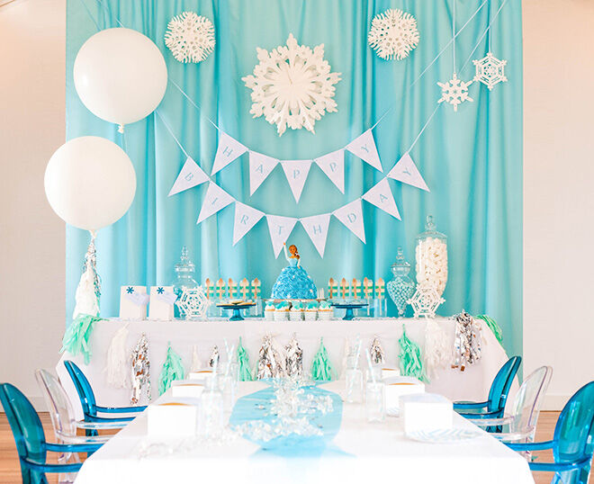 Frozen Party Ideas: How to host a Frozen party