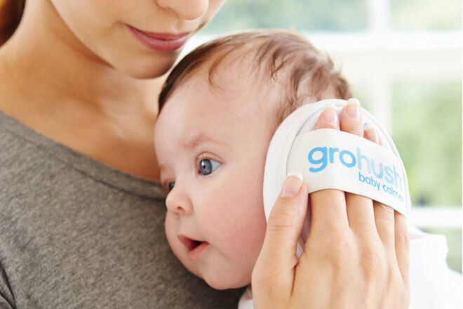 Move baby into own room to sleep - GroHush white noise