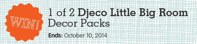 WIN a Djeco Little Big Room decor pack