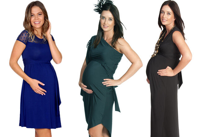 Eve of Eden maternity eveningwear