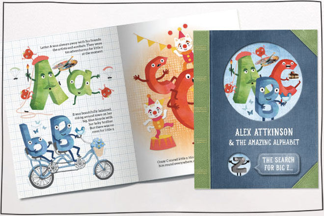 Tinyme personalised story books