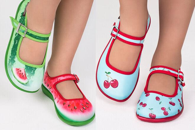 Pimpos mismatched shoes