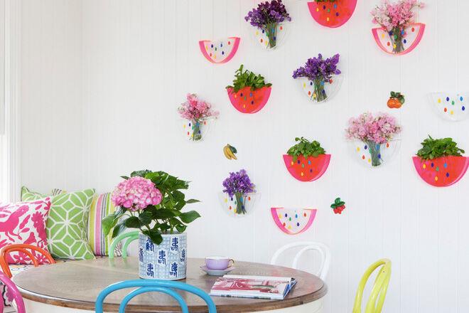 Lovestar watermelon vase
