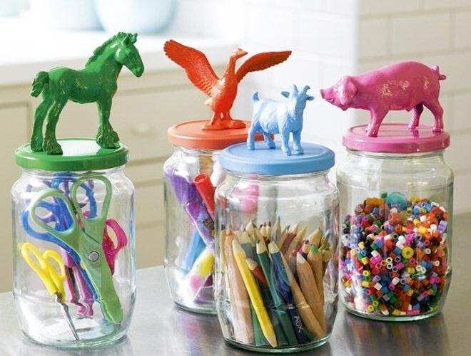 Kids Craft Storage Ideas