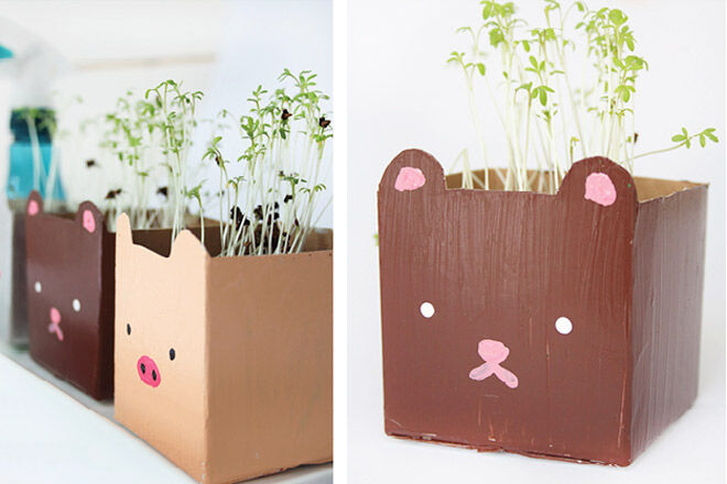 Milk Carton Crafts