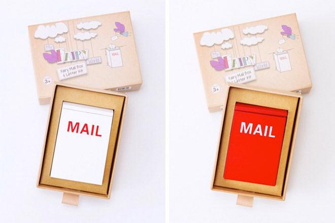 Tooth fairy mini mailbox