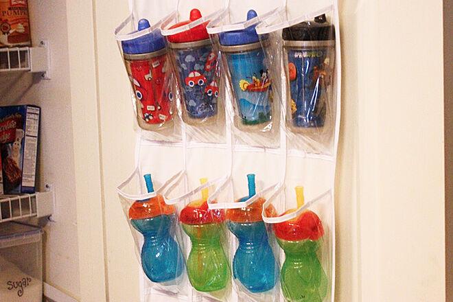 Drink bottle organiser