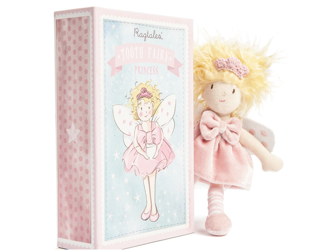 Ragtales tooth fairy princess box