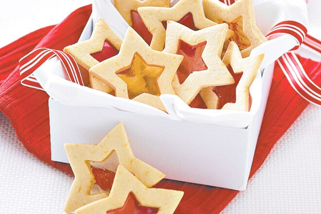 Star cookies to put in advent calendar