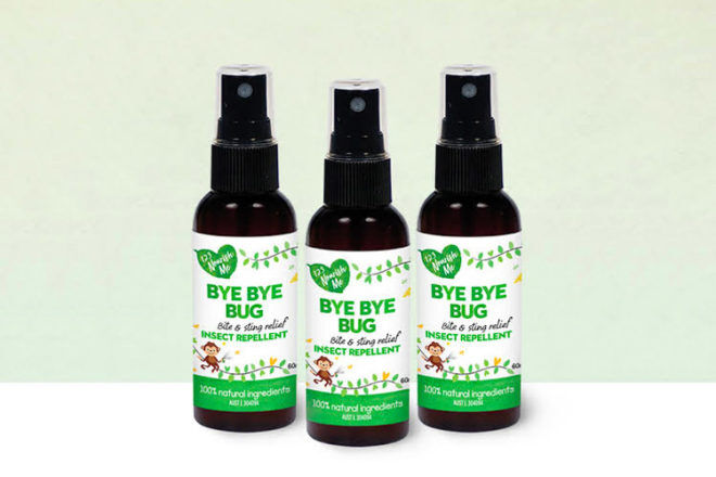 123 Nourish Me Bye Bye Bug Insect Repellent