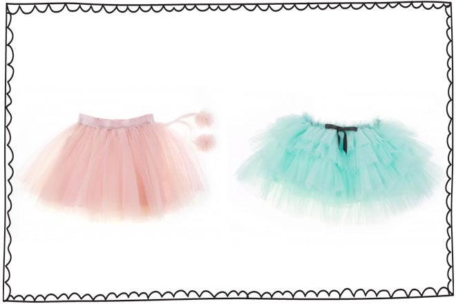 Britt ballroom tutu skirts
