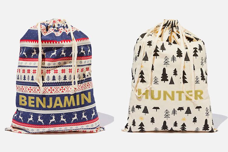 Cotton On Personalised Santa Sack