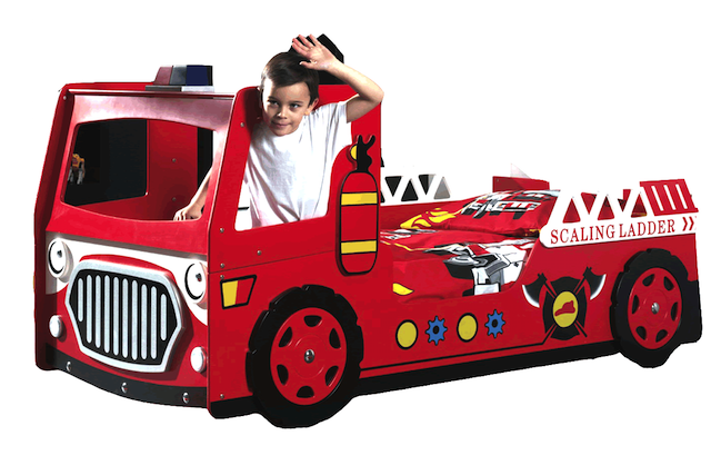 fire engine bed toddlers