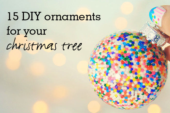 15 diy ornaments