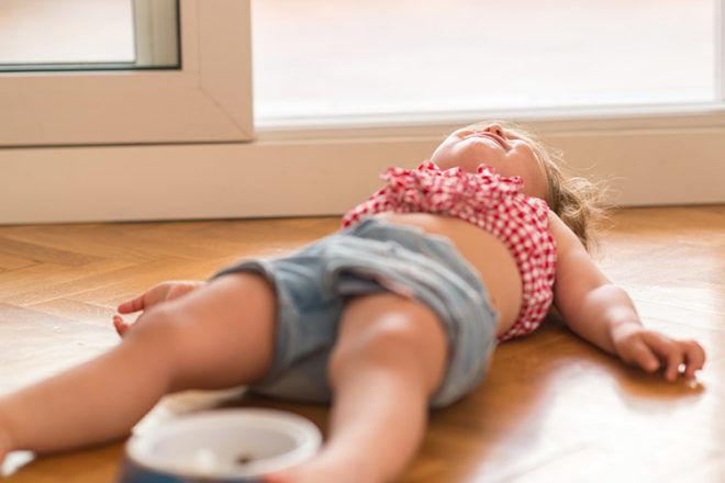 Tips to surviving a toddler tantrum