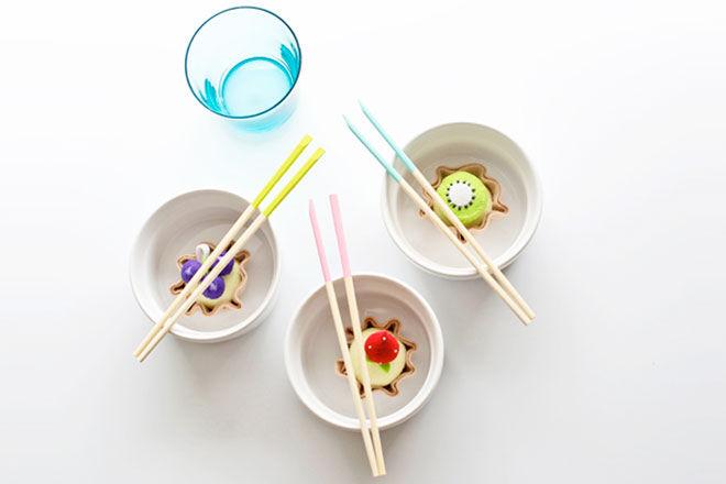 Paint Dipped Chopsticks