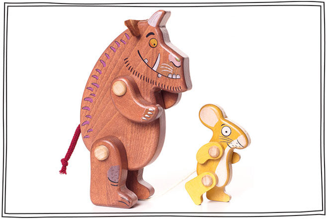The Grufalo & Mouse Pull Along