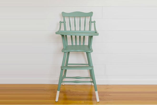 Paint Dipped Highchair