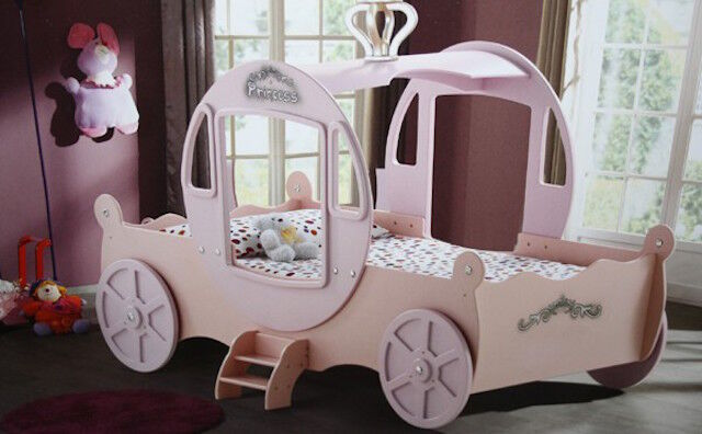 princess carriage bed toddler