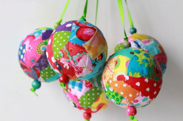 fabric scrap balls