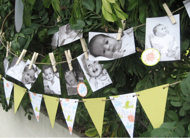 Who's that baby shower games