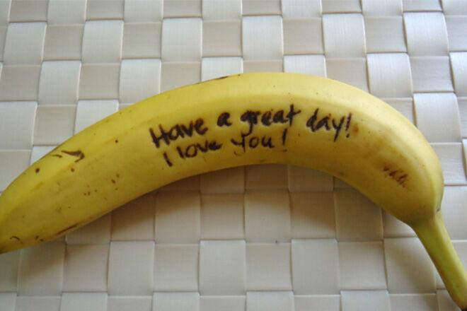 Banana message